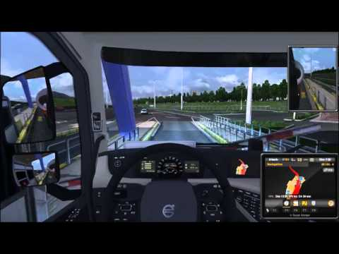 Euro Truck Simulator 2 : TruckSim Map 4.7.2 #2 Big convoie exceptionnelle ( Luxembourg  - Bordeaux )