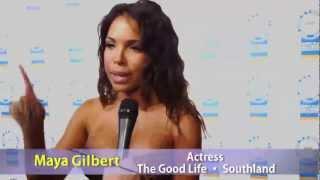 Maya Gilbert At The NAACP Image Awards