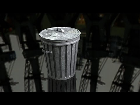 Maya tutorial : How to model a Trash Can