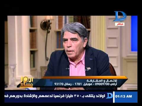العاشرة مساء الحوار الكامل للفنان محمود الجندى مع وائل الإبراشى الجزء الأول