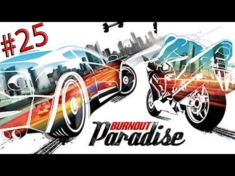 BURNOUT PARADISE - Playtrough - Ep 25: Super Saut, Shériff et F1?