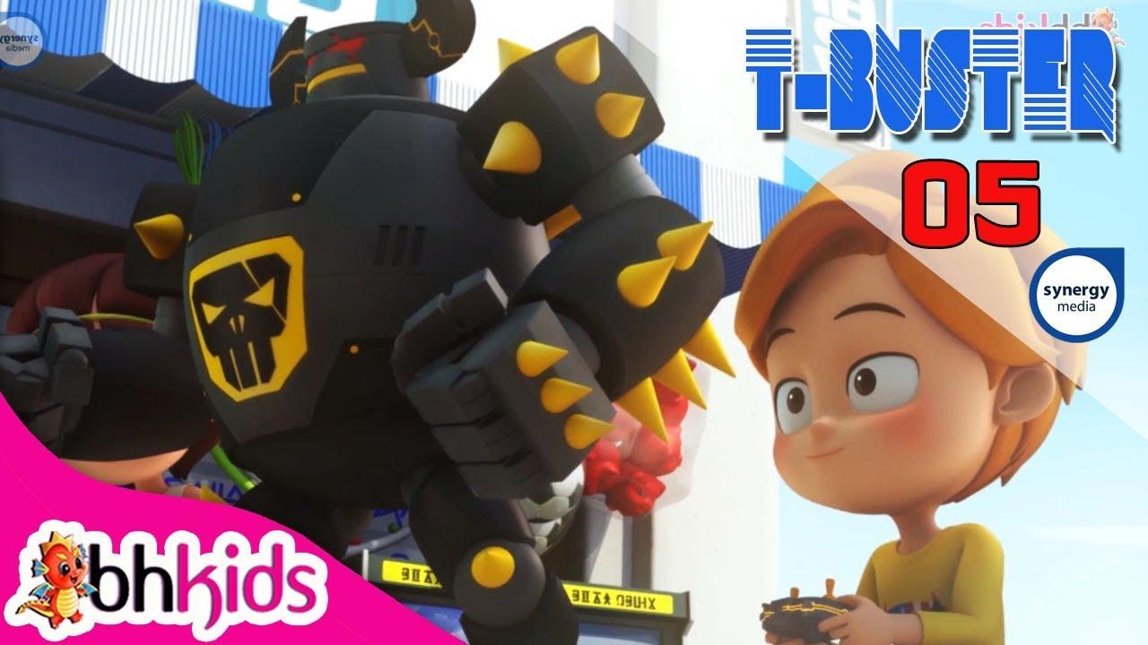 Phim Hoạt Hình Robot Người Máy T-Buster tập 05 | Hoạt Hình 3D Hay 2017