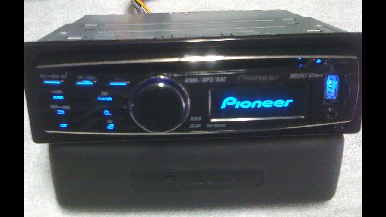 Pioneer DEH-8350SD - Leitor usb/ cartão sd - Grafico