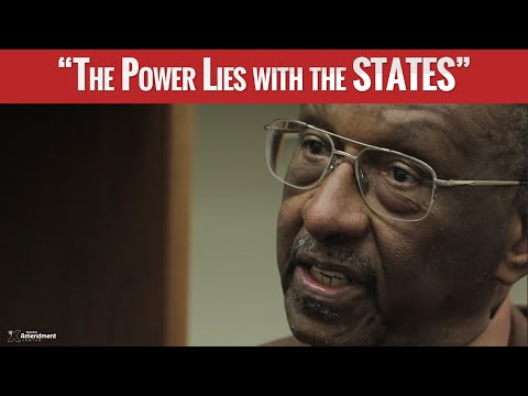 Walter Williams: State vs Federal Power