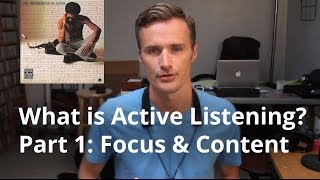What Is Active Listening 1 Of 2 Focus Content