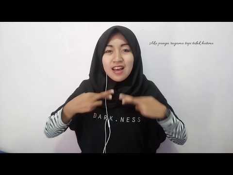 Hanin - Asal Kau Bahagia (Armada - Asal Kau Bahagia) (Cover SIBI) Sistem Isyarat Bahasa Indonesia