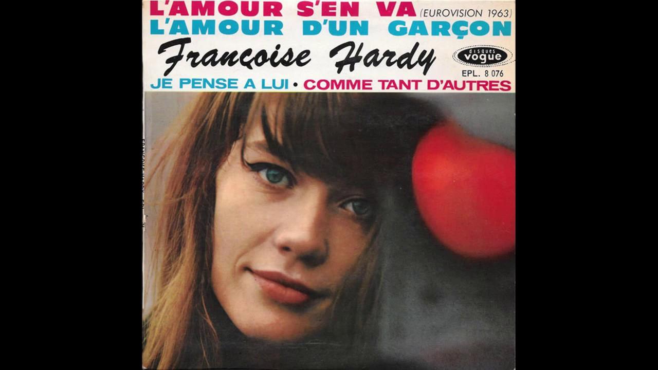 Françoise Hardy Lamour Sen Va 1963