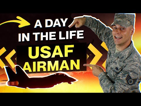 A day in the life - USAF Airman (Day Shift)
