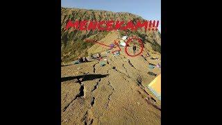 MENCEKAM!!! detik-detik gempa lombok saat pendaki sedang di atas gunung
