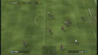 Fifa 08 Inter - Barcelona gameplay