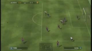 Fifa 08 Inter - Barcelona gameplay