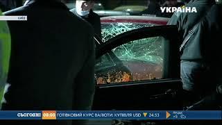 Поліція шукає мотоцикліста-підривника автівки на околиці Києва