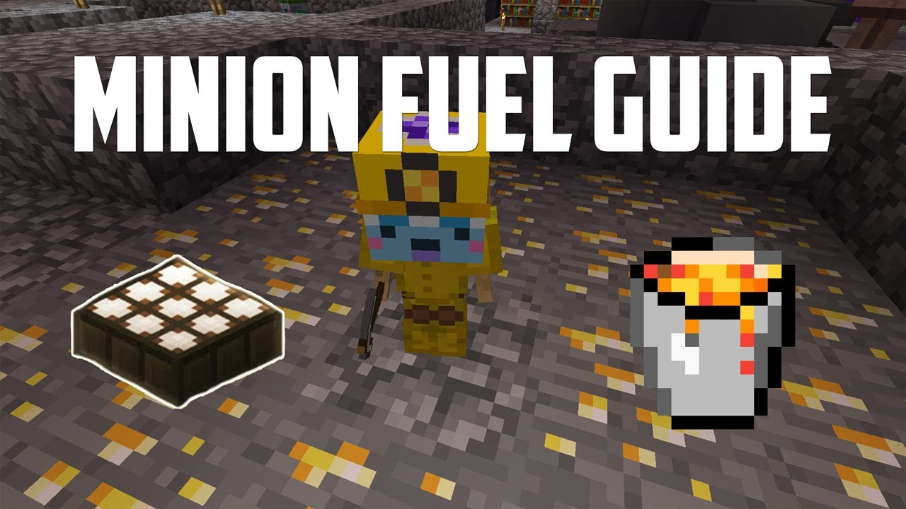 The COMPLETE GUIDE to MINION FUEL in Hypixel Skyblock