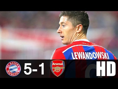 Bayern Munich vs Arsenal 5-1 Highlights UCL 2015/16 HD 720p (English Commentary)
