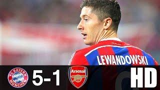 Bayern Munich vs Arsenal 5-1 Highlights UCL 2015/16 HD 720p (English Commentary)