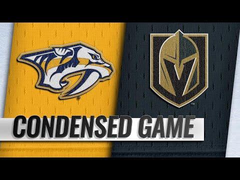 01/23/19 Condensed Game: Predators @ Golden Knights