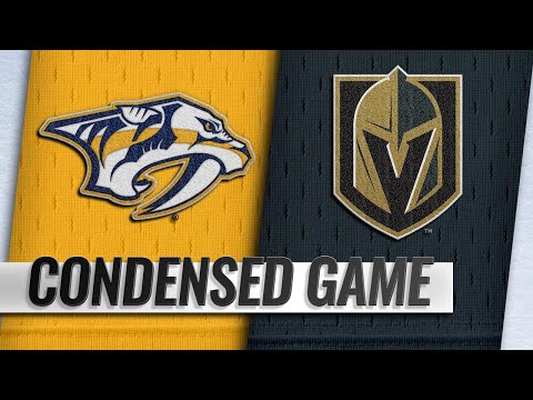01/23/19 Condensed Game: Predators @ Golden Knights