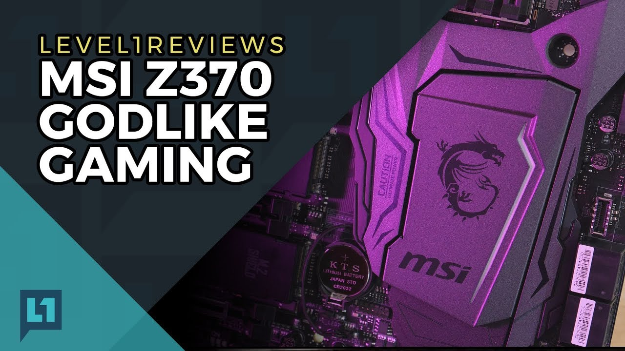 MSI Z370 Godlike Gaming Review + Linux Test