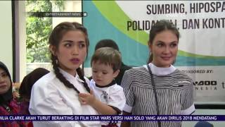 Jessica Iskandar dan Luna Maya Berbagi Dengan Anak-anak Kurang Beruntung