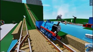 Thomas the Tank Engine and Friends The Railway Roller Coaster Roblox 6