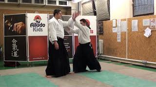 katadori menuchi nikyo [AIKIDO]  basic technique