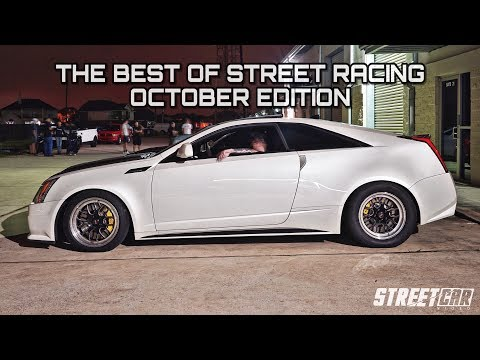 Turbo Cadi takes on '18 Mustang + GT-R, Supra, TT Lambo! Best of Street Racing - October's Top 10