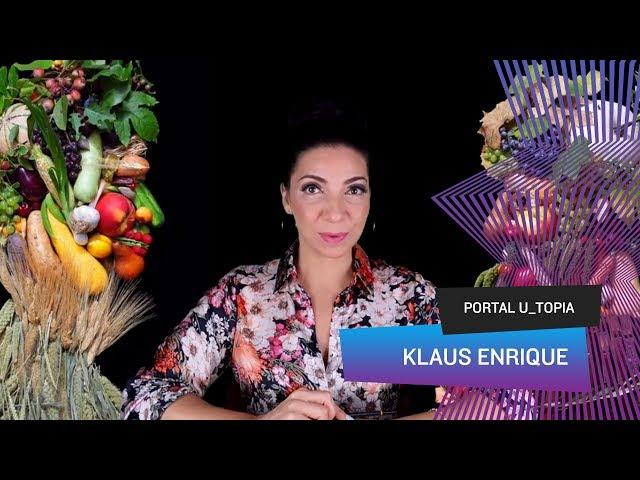 Portal U_topia - Klaus Enrique, hortifruti também é arte