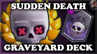 Magic Archer Confirmed! | Sudden Death Graveyard | Clash Royale 🍊