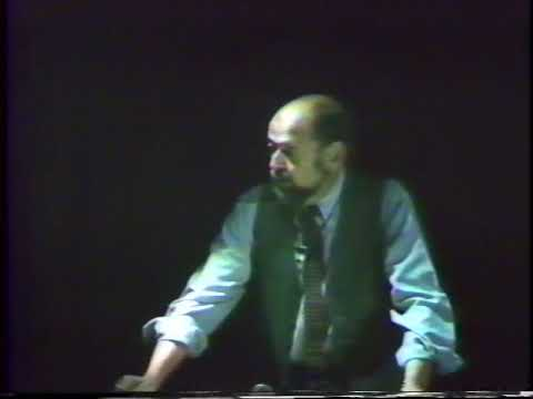 Robert Marquis: Form Energy And Humanism (March 3, 1982)