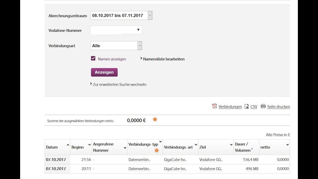 Unberechtigte Rechnung Beim Vodafone Giga Cube Flex Youtube