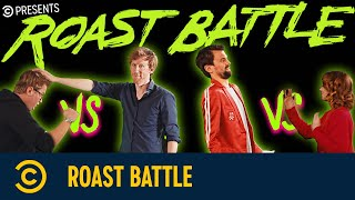 Roast Battle mit Thorsten Bär vs. Christian Schulte-Loh und Christin Jugsch vs. David Werker