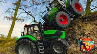 BRUDER Toys Traktor DEUTZ and FENDT