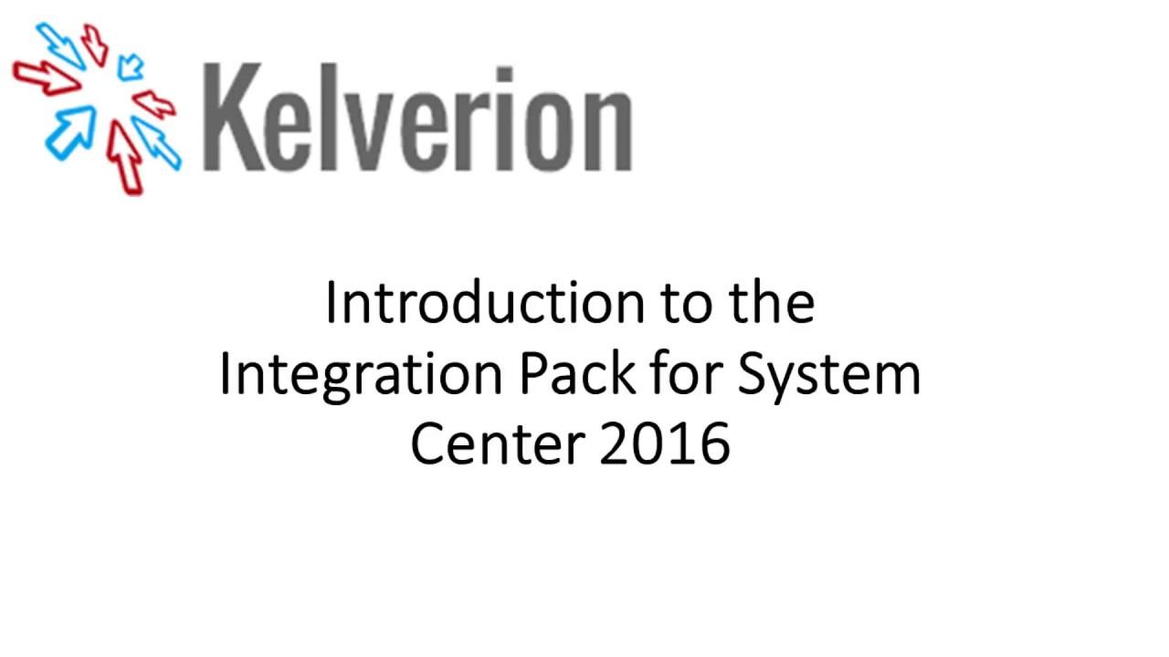 Orchestrator Integration Pack for System Center - Kelverion