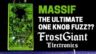 Frost Giant Massif Four Horseman Fuzz - Pedalboards of Actual Doom