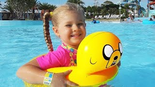Diana and Papa Pretend Play at the WaterPark! My super fun day with Dad and kids toys thumbnail