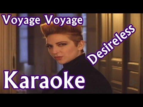Voyage Voyage Karaoke - Desireless HD
