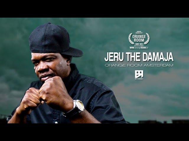 JERU THE DAMAJA x BITTERZOET AMSTERDAM