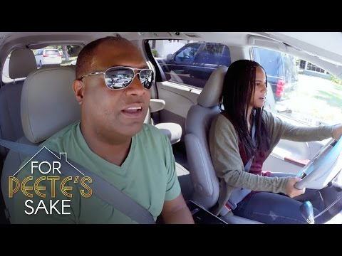 Ryan Gets Behind the Wheel For the First Time | For Peete's Sake | Oprah Winfrey Network