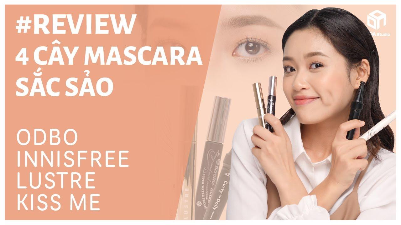 4 Loại Mascara Cho Hàng Mi CONG VÚT – CUỐN HÚT 👁️ | DADA Beauty Việt Nam