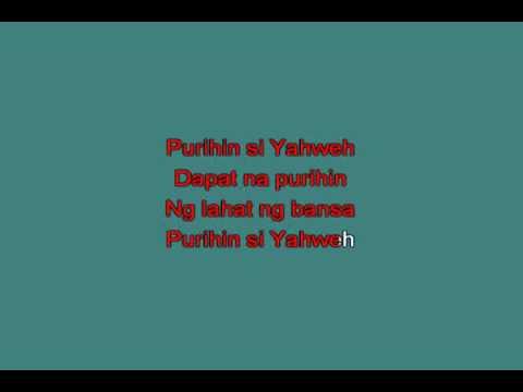 Awitan si Yahweh [karaoke]