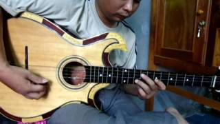 Guitar nhạc lễ Cao Đài | Bài Nam ai cơ bản - Tấn Thành Bàu Năng