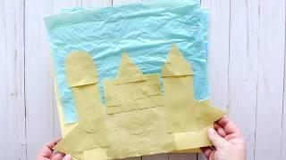 Baby Einstein DIY Sand Castle Craft