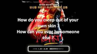 [Eng sub] FULL VERSION Mozart the Musical I cannot escape my destiny