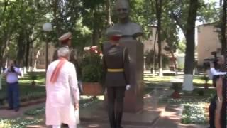 PM In Uzbekistan: Pays tribute to Lal Bahadur Shastri | PMO