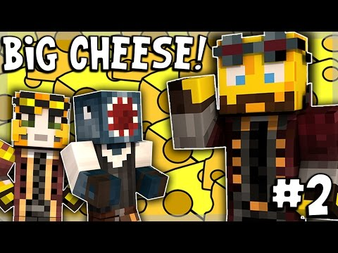 Minecraft - TIME TRAVELLERS! - THE BIG CHEESE! #2 W/Stamps & Ash!
