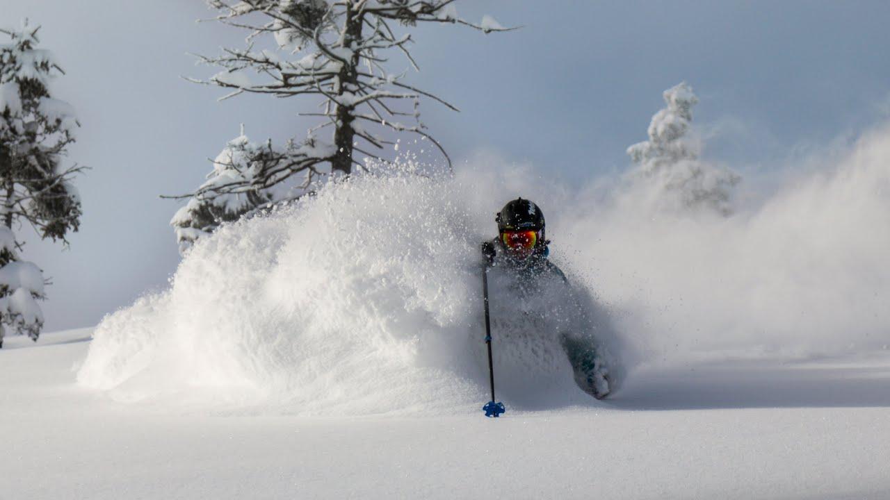 How To Ski Deep Powder For Dream