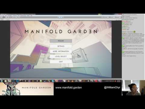 Manifold Garden Dev Stream 2016-05-10 (Part 1)