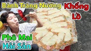 Lâm Vlog - Làm Bánh Tráng Nướng Khổng Lồ | Bánh Tráng Nướng Hải Sản Phô Mai Mozzarella