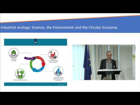 Kees Veerman-Conference Industrial Ecology: Science, the Environment and the Circular Economy