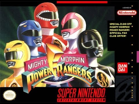 Mighty Morphin Power Rangers (Power Rangers) (game)